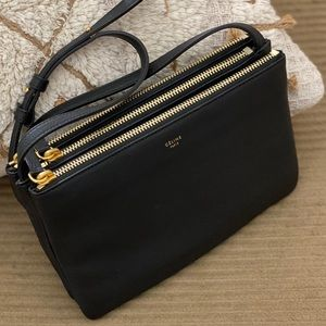 Celine Trio Bag in Lambskin